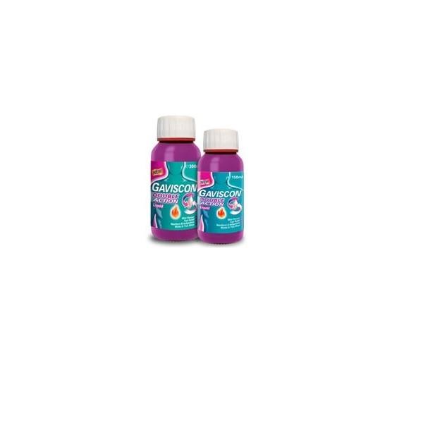 how to take gaviscon double action liquid