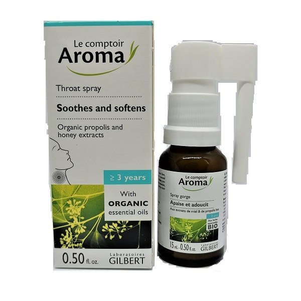 Le comptoir Aroma Throat Spray 15ml Image