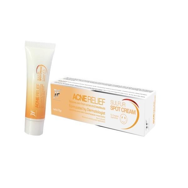 JF Acne Relief Sulfur Spot Cream (10g) Image