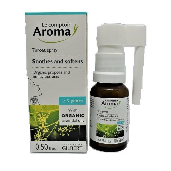 Le comptoir Aroma Throat Spray 15ml Image